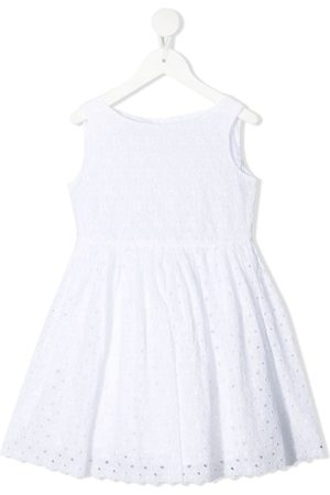 BONPOINT Kleid aus geblümter Spitze