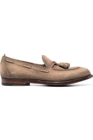 Officine creative Herren Halbschuhe - Loafer aus Wildleder