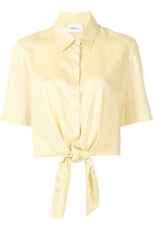 Ports V Damen Blusen - Hemd mit Logo