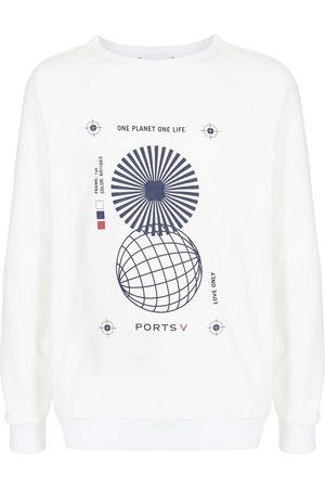 "Ports V Sweatshirts - Sweatshirt mit ""One Planet One Life""-Print"