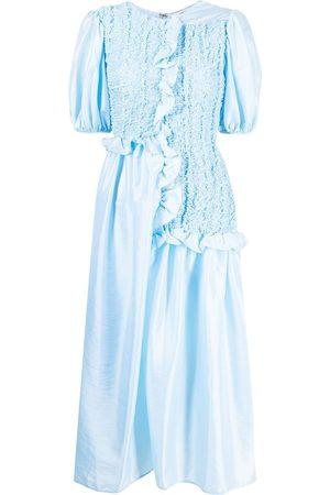 Cecilie Bahnsen Kleid mit Puffärmeln