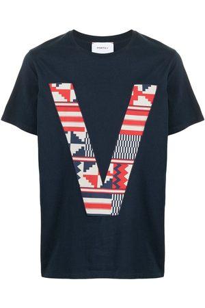 Ports V T-Shirts, Polos & Longsleeves - T-Shirt mit V-Logo