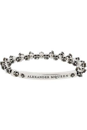 Alexander McQueen Armband mit kleinen Totenköpfen