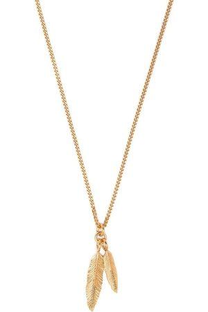 EMANUELE BICOCCHI Twin Halskette mit Federanhängern