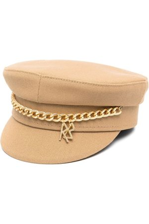 Ruslan Baginskiy Damen Hüte - Schiffermütze mit Zierkette