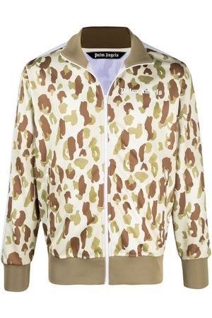 Palm Angels Sportjacke mit Camouflage-Print