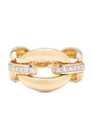 Nadine Aysoy Catena Diamond & 18kt Ring