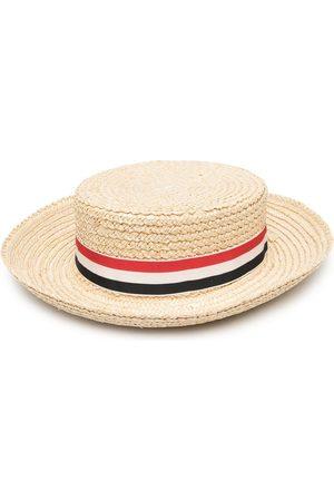 Thom Browne Damen Hüte - Hut mit geflochtenem Band