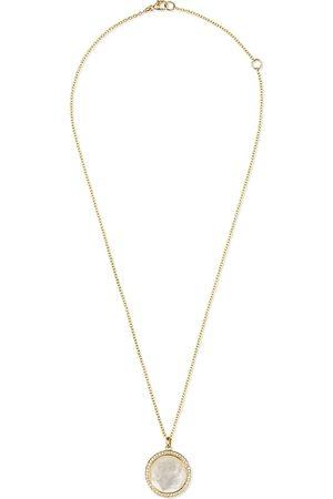 Ippolita Damen Halsketten - 18kt 'Lollipop' Gelbgoldhalskette mit Perlmutt