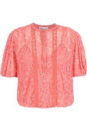 NK Damen Blusen - Bluse aus Spitze
