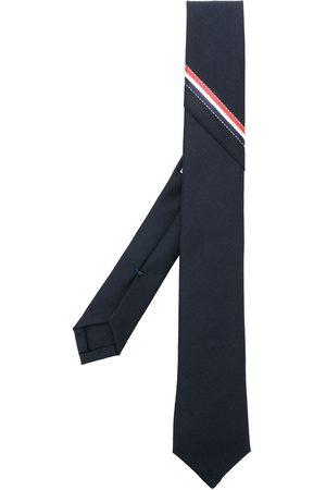 Thom Browne RWB selvedge super 120s twill necktie