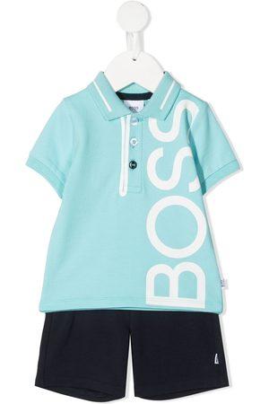 HUGO BOSS Poloshirt-Set mit Maxi-Logo