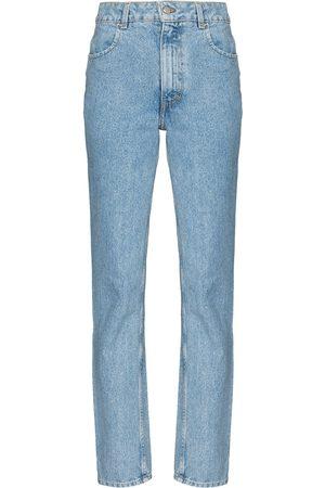 Eckhaus Latta Damen Straight - Gerade Jeans