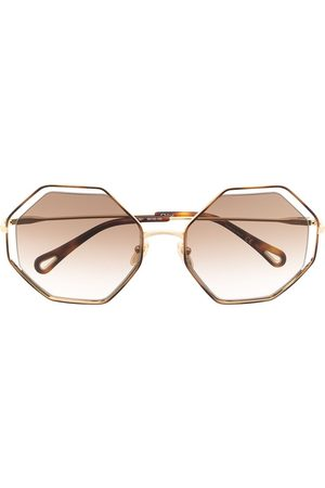 Chloé Eckige Sonnenbrille