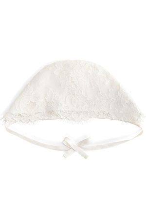 Dolce & Gabbana Hüte - Spitzenmütze mit Schleife
