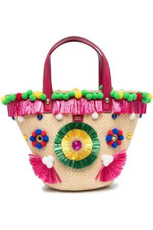 Dolce & Gabbana Mädchen Umhängetaschen - Bestickte Beuteltasche