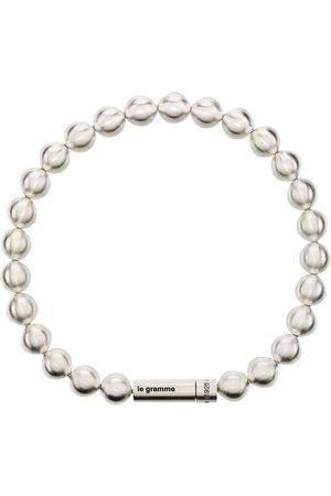 Le Gramme Le 47g Perlenarmband mit gebürstetem Effekt