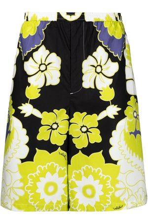 Valentino Herren Bermuda Shorts - Bermudas mit Arazzo-Print