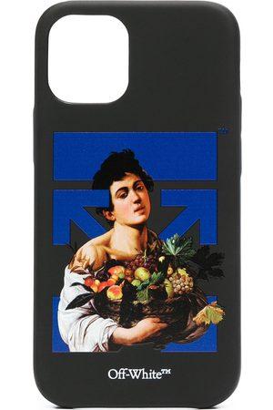 OFF-WHITE Jungen Handy - IPhone 12 Mini-Hülle mit Caravaggio Boy-Print