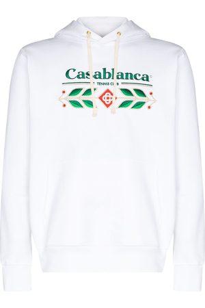 Casablanca Hoodie aus Bio-Baumwolle