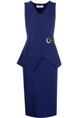 CHIARA BONI Damen Cocktailkleider - Kleid mit Ösen
