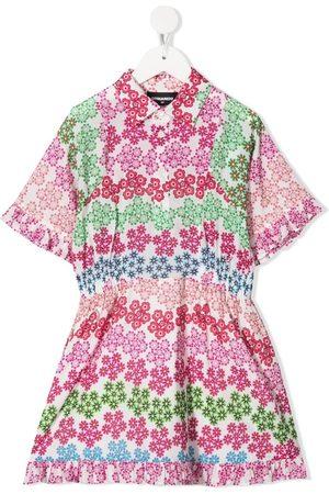 Dsquared2 Kleid mit Blumen-Print