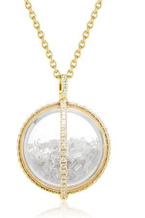Moritz Glik 18kt Gelbgoldhalskette mit einem Diamanten