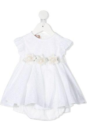 LA STUPENDERIA Kleid mit Blumen-Motiv