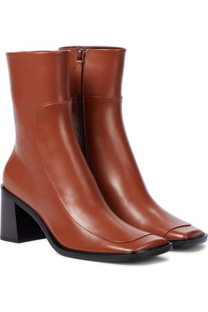 The Row Ankle Boots Patch aus Leder