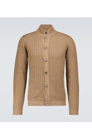 ZANONE Cardigan aus Leinen und Baumwolle