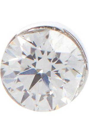 Maria Tash Einzelner Ohrring Invisible aus 18kt Weiß mit Diamant