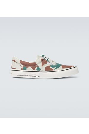 UNDERCOVER Sneakers Camouflage aus Canvas