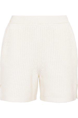 Barrie Shorts aus Kaschmir und Baumwolle