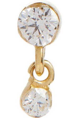 Maria Tash Ohrring Invisible aus 14kt Gelbgold mit Diamanten