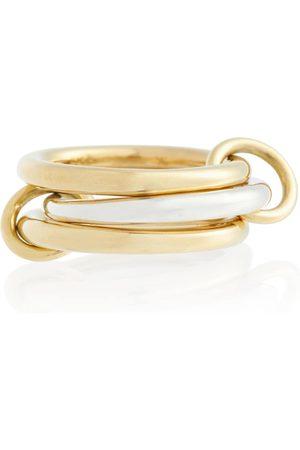 SPINELLI KILCOLLIN Ring Taurus aus 18kt Gelbgold und Sterlingsilber