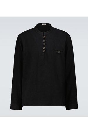 COMMAS Hemd Artist aus Baumwolle und Leinen