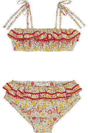 Caramel Bedruckter Bikini Mahi