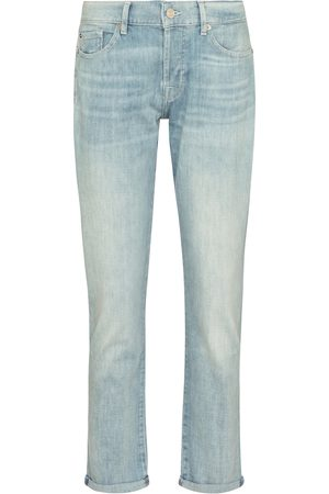 7 for all Mankind Mid-Rise Boyfriend Jeans Asher