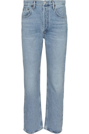 AGOLDE Mid-Rise Straight Jeans Ripley