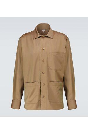 CARUSO Hemdjacke aus Wolle