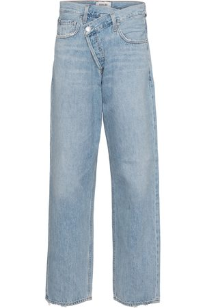 AGOLDE High-Rise Jeans Criss Cross