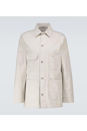 Maison Margiela Hemdjacke aus einem Baumwollgemisch