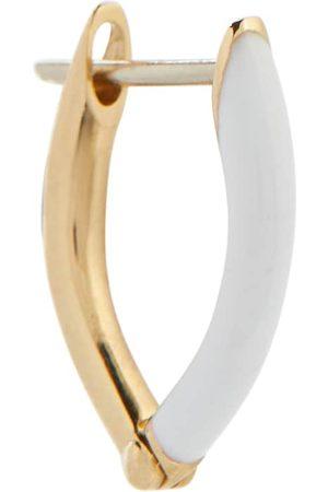 Melissa Kaye Einzelner Ohrring Cristina aus 18kt Gelbgold und Emaille