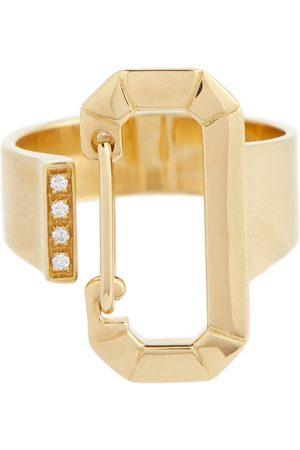 Eera Ring aus 18kt Gelbgold mit Diamanten