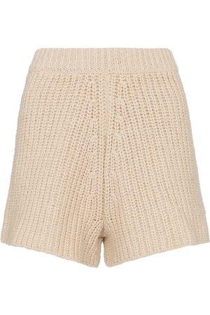 Alanui High-Rise Shorts aus Baumwolle