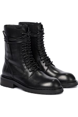 ANN DEMEULEMEESTER Ankle Boots aus Leder