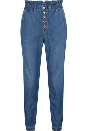 VERONICA BEARD High-Rise Straight Jeans Tedi