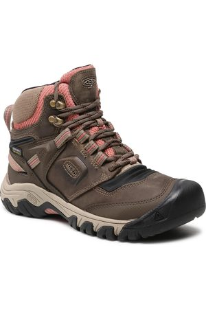 Keen Ridge Flex Mid Wp W 1024921 Timberwolf/Brick Dust