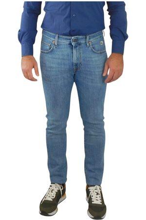 ROŸ ROGER'S Herren Stretch - 317 Denim Stretch Skinny Jeans , Herren, Größe: W35