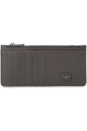 Dolce & Gabbana Leather card holder , Herren, Größe: One size